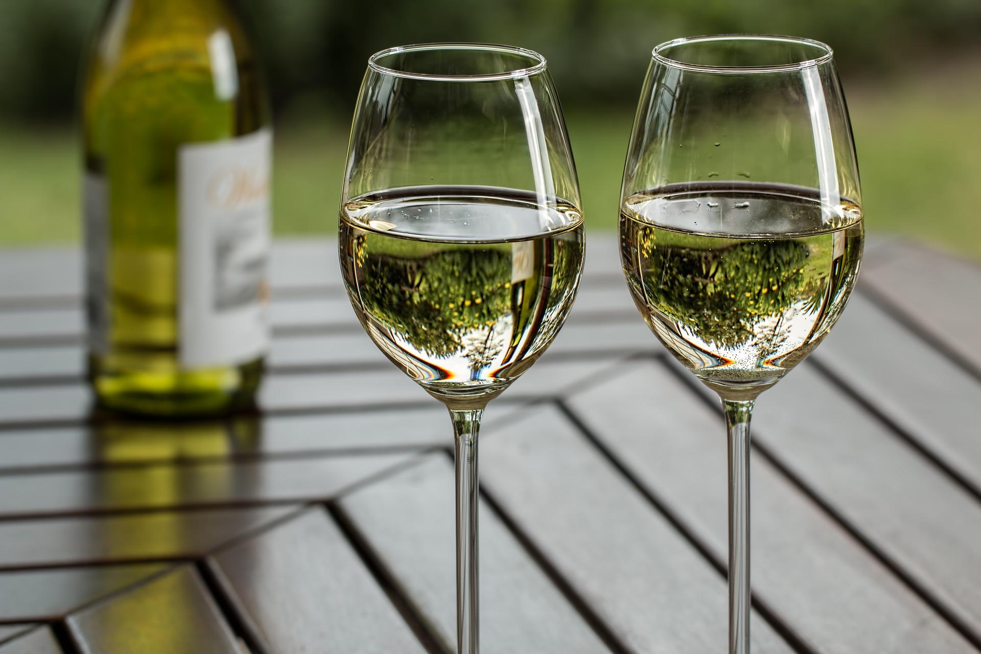 Chardonnay & fylliga vita viner